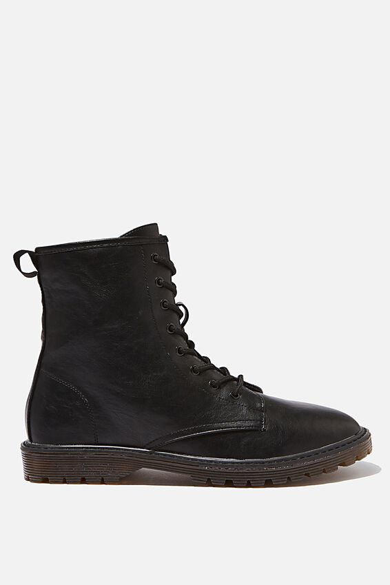 Guys Combat Boot, BLACK