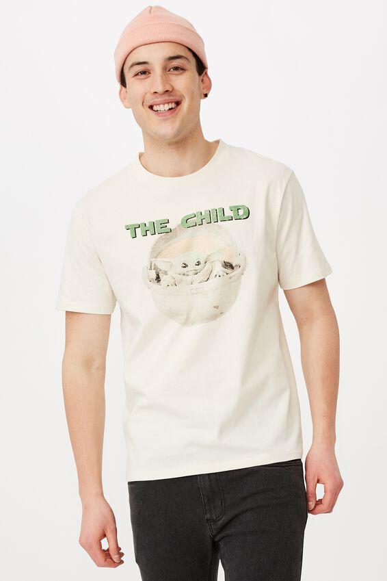 Regular License T Shirt, IVORY/THE CHILD