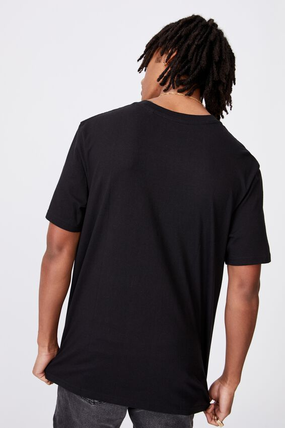 Regular License T Shirt, LCN PER BLACK/ACDC CHRISTMAS