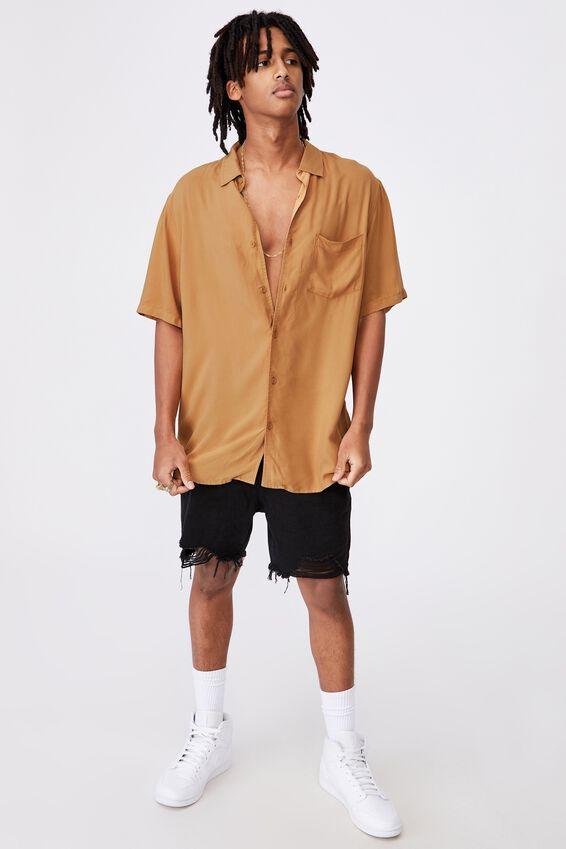 Resort Shirt, PALE GOLD