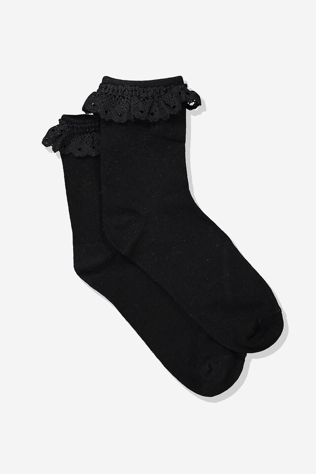 The Original Sock, BLACK LACE