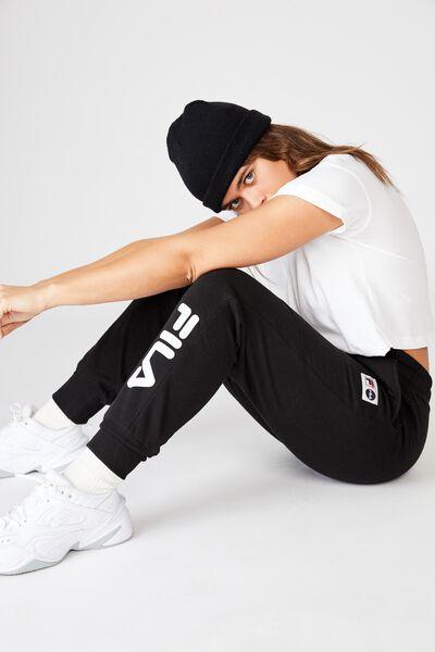 Fila Lcn Track Pant, BLACK/WHITE