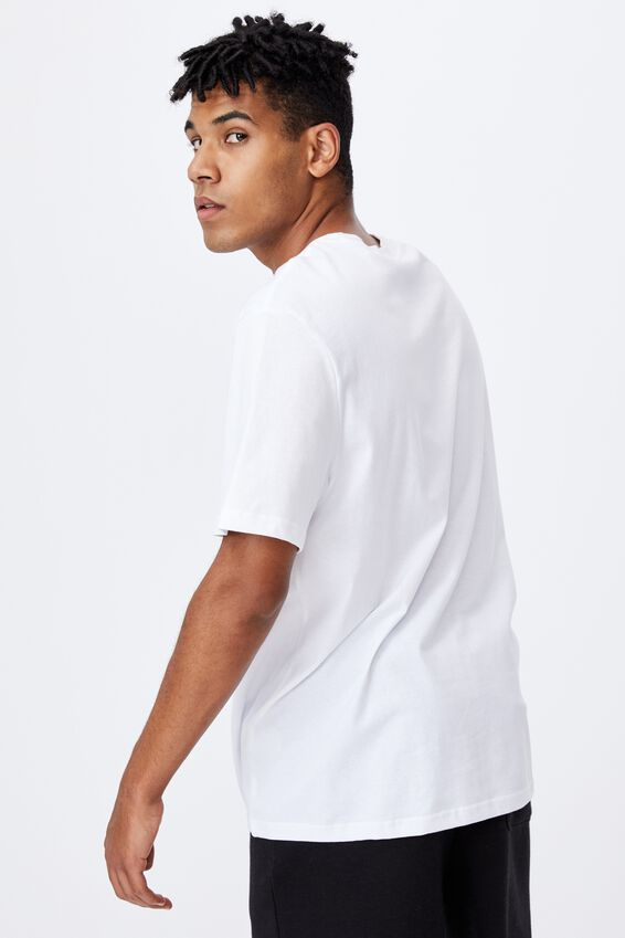 Regular Music Merch T Shirt, LCN MT WHITE/NOTORIOUS BIG