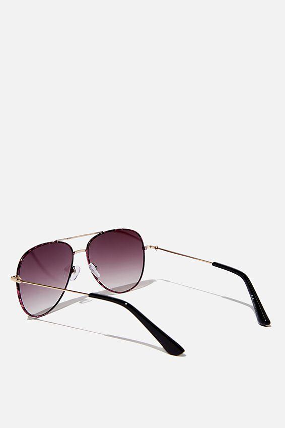 Girls Aviator Sunglasses, TORT