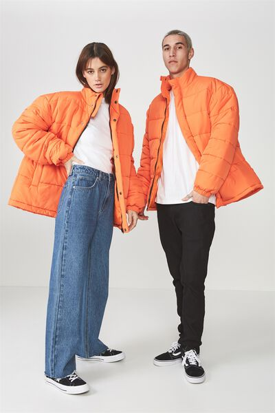 Puffer Jacket, PUFFINS BILL