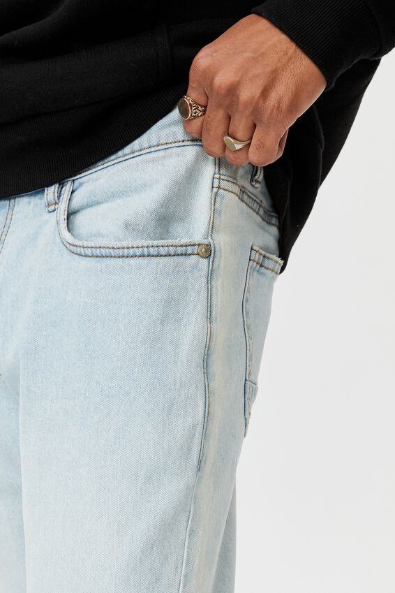 Skinny Leg Denim Jean, LIGHT BLUE