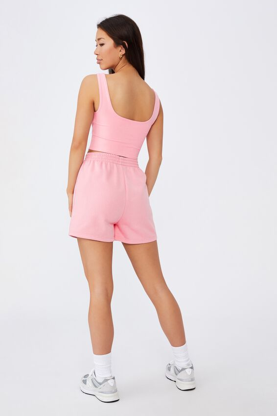 Cut Out Front Tank, BABE PINK