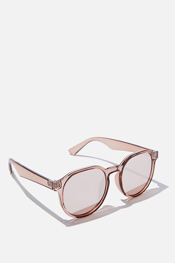 Millenium Preppy Sunglasses, MISTY ROSE