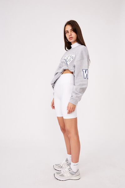 Oversized Graphic Crew 2, GREY MARLE/WYOMING