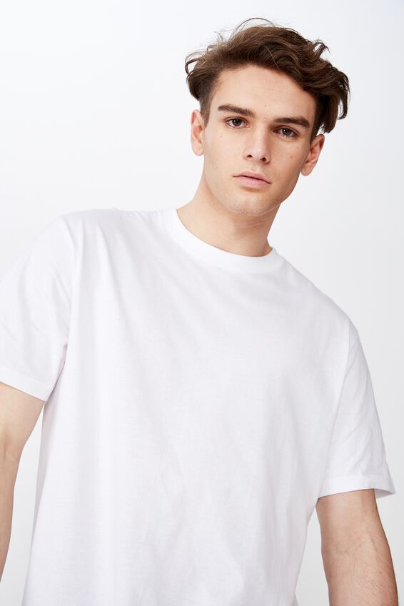 Regular T Shirt, WHITE