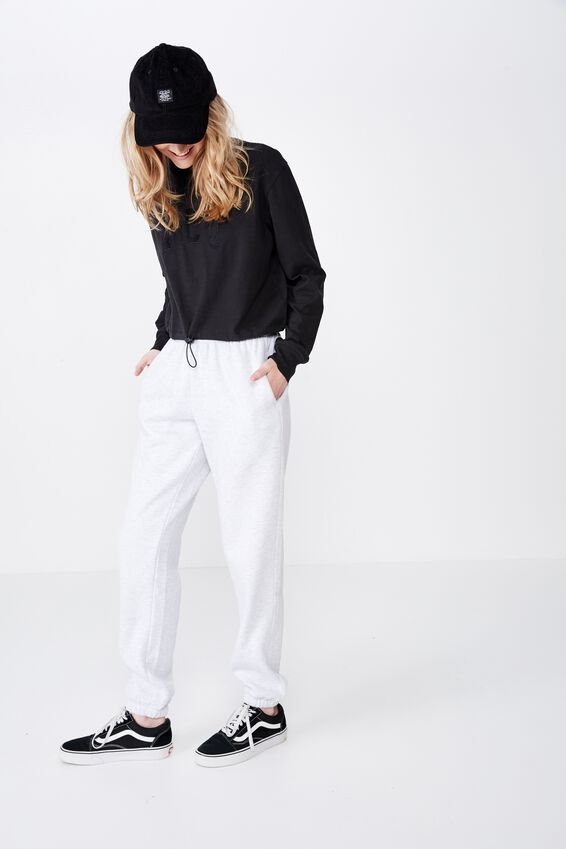 Classic Trackpant, SILVER MARLE