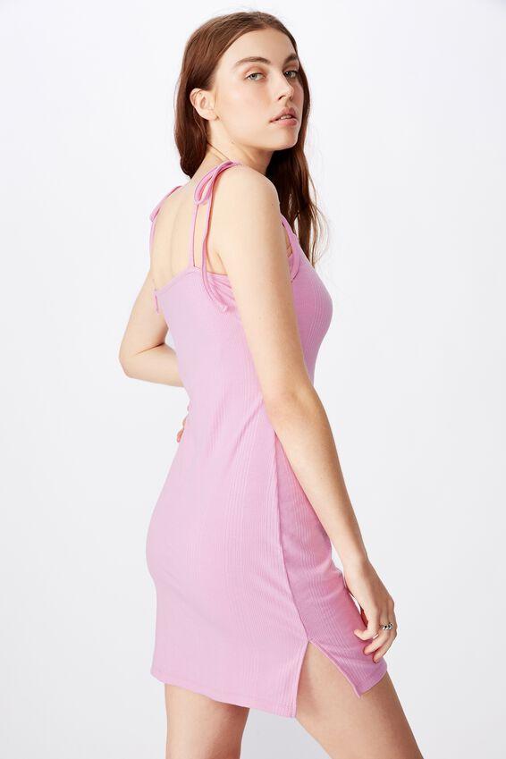Side Split Dress, ORCHID