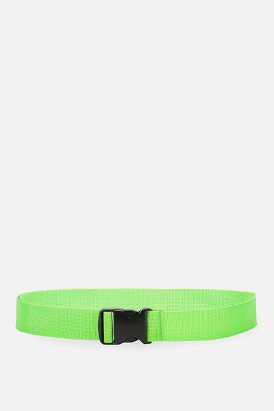Clasp Belt, GREEN