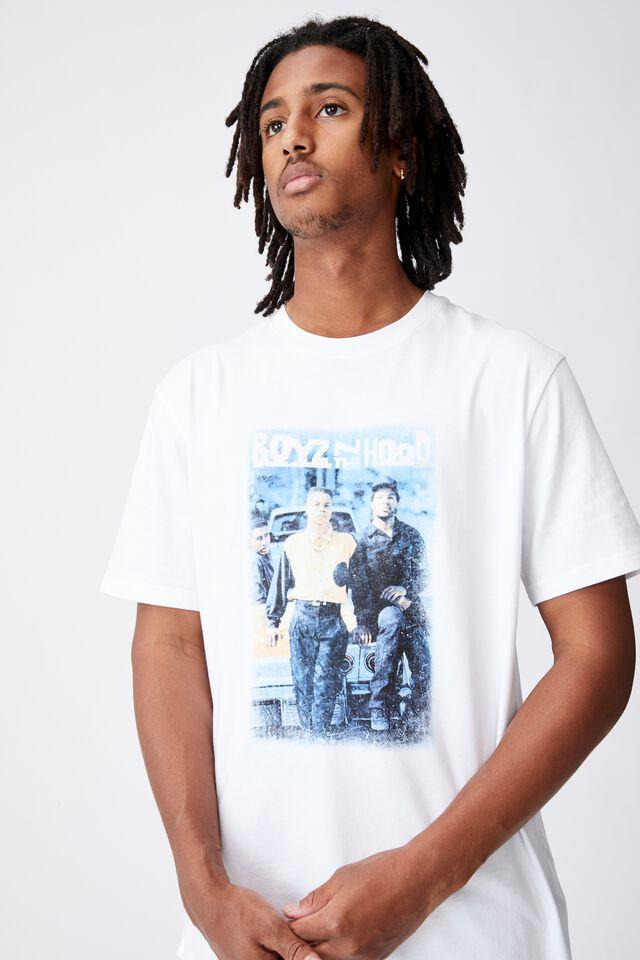 Regular Tv Movie T Shirt, LCN SON WHITE/BOYZ N THE HOOD