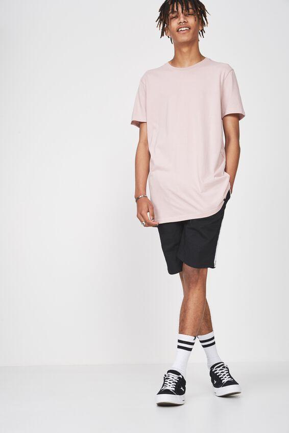 Longline T Shirt, VIOLET ICE