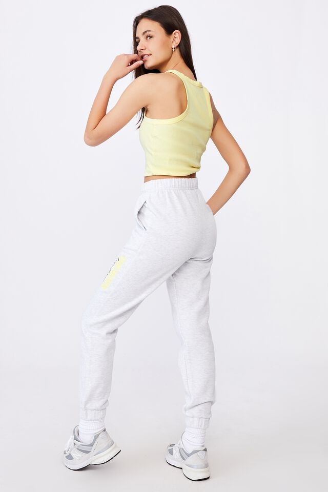 Super High Rise Trackpant, SILVER MARLE/UNKNOWN LOCATION
