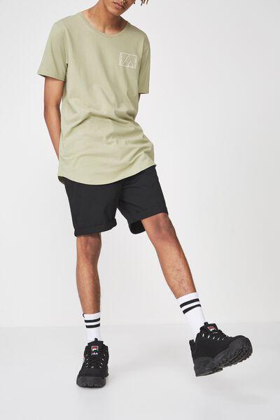 Chino Short, BLACK