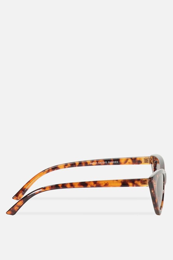 Zarah Cateye Sunglasses, S CRY GOLD