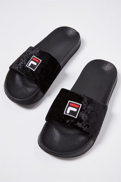 Fila Slide Ii, VELOUR_BLACK