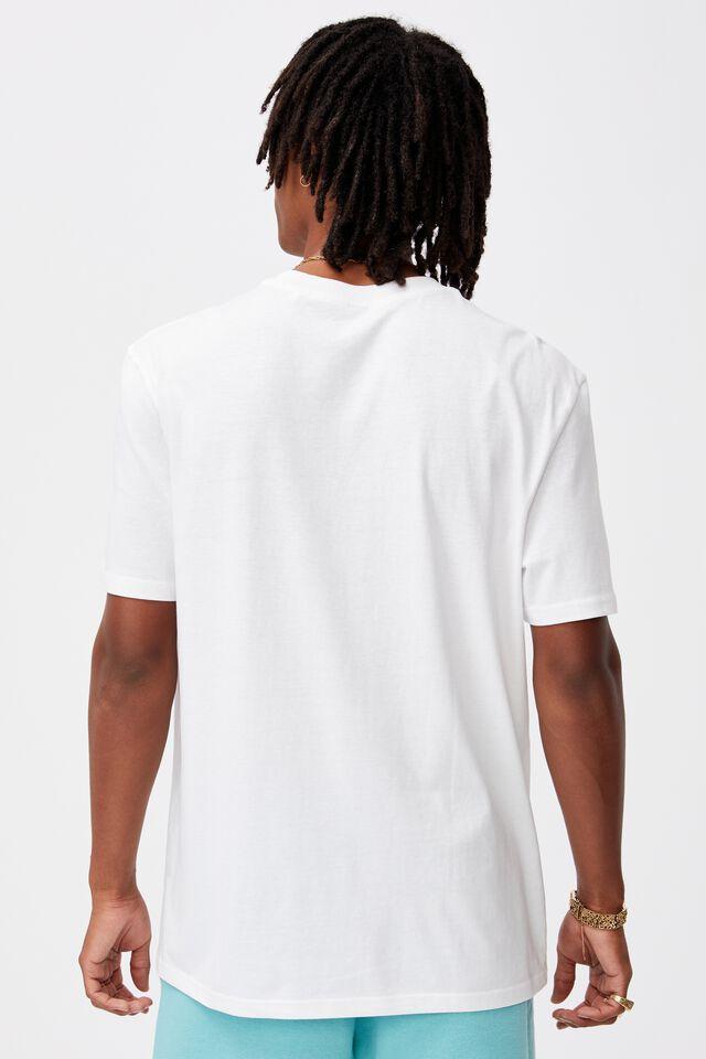 Regular Graphic T Shirt, WHITE/NOT FOREVER