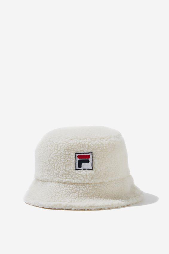 Fila Lcn Teddy Bucket Hat, CREAM