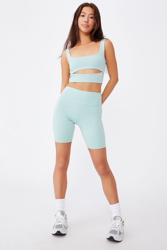 High Waisted Elevated Bike Short, ETHER