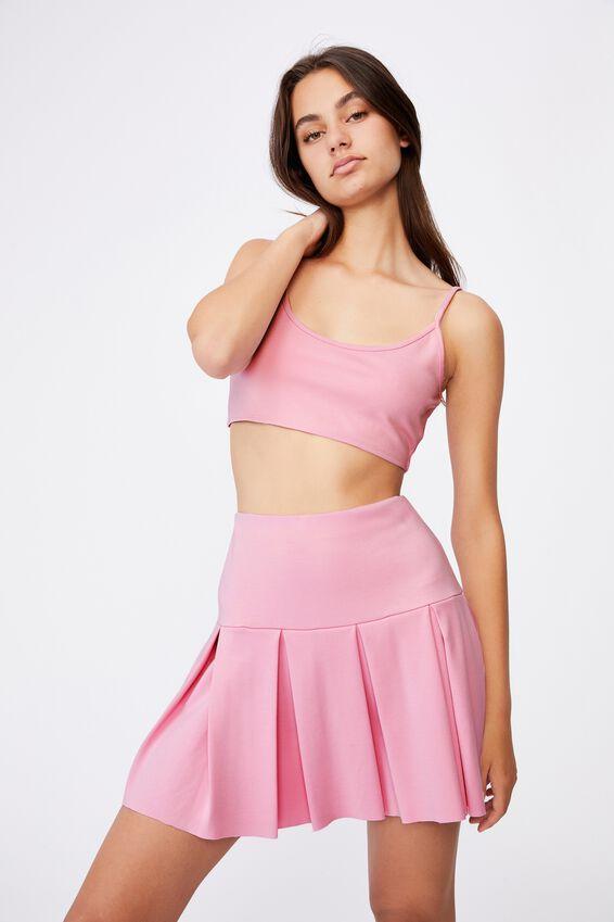 Tennis Skirt, BABE PINK