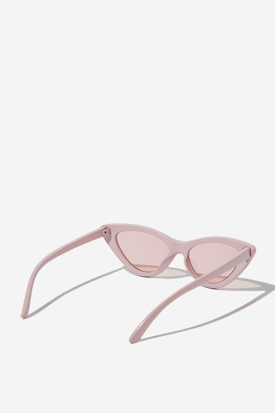 Zarah Cateye Sunglasses, S PINK_PCH