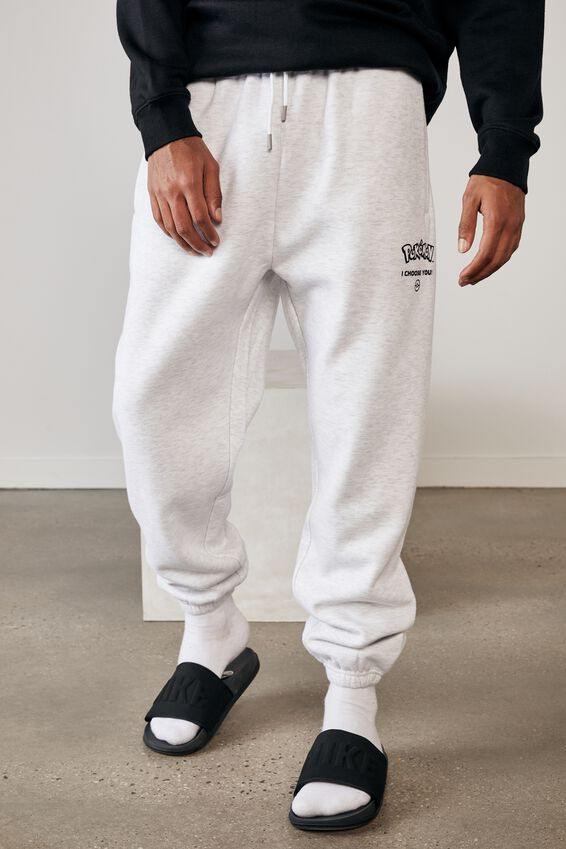 Relaxed Gaming Trackpant, LCN POK SILVER MARLE/POKEMON
