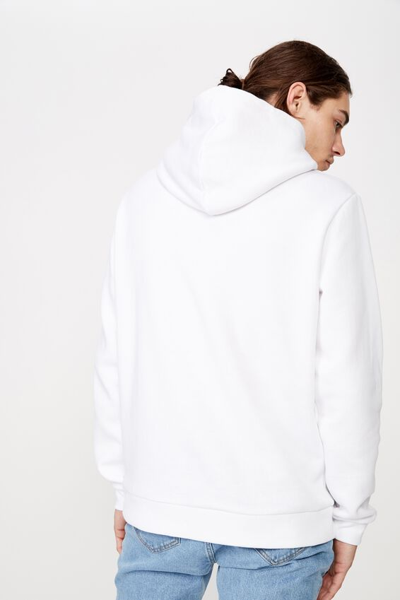 License Graphic Hoodie, WHITE/ICE CUBE