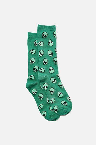 Jersey Sock, ALIENS YARDAGE