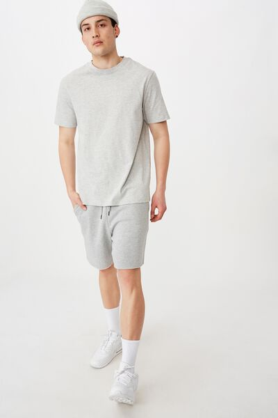 Track Short, GREY MARLE