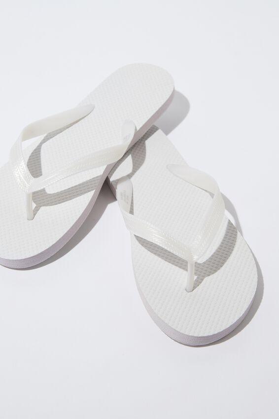 Flip Flop, WHITE