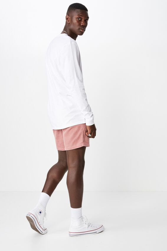 Cord Short, DUSTY PINK