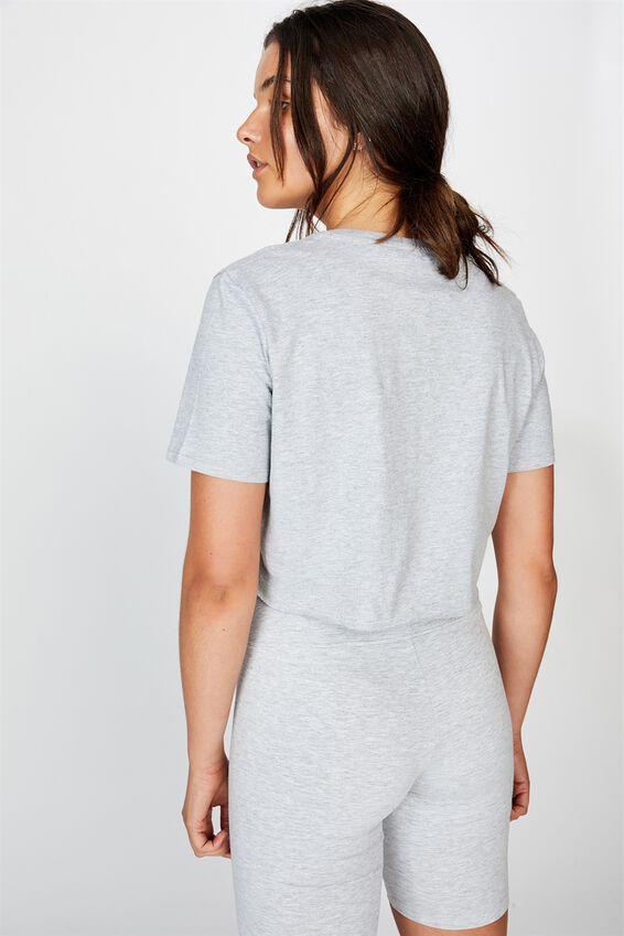Lcn Raw Edge Graphic T Shirt, GREY MARLE/NEW YORK JETS