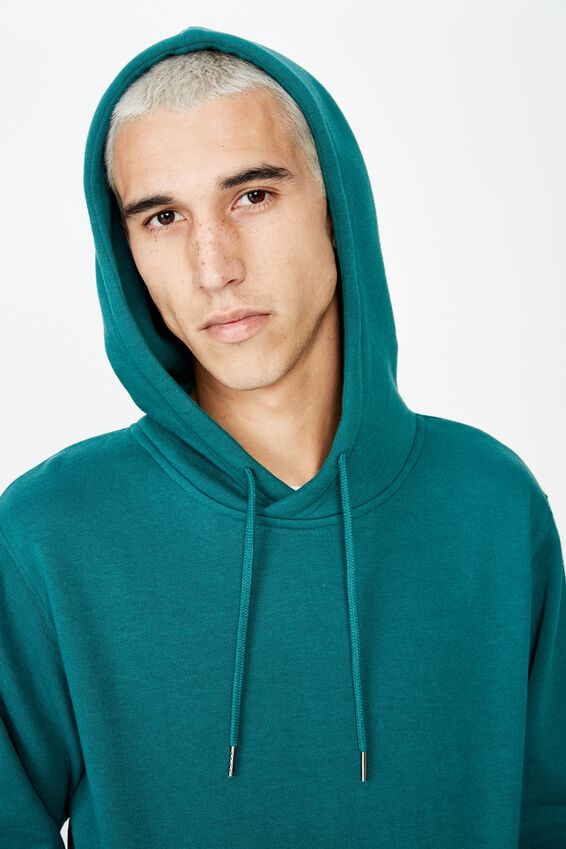 Basic Hoodie, FOREST PINE