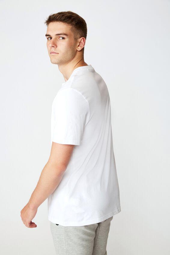 Regular Graphic T Shirt, WHITE/NY