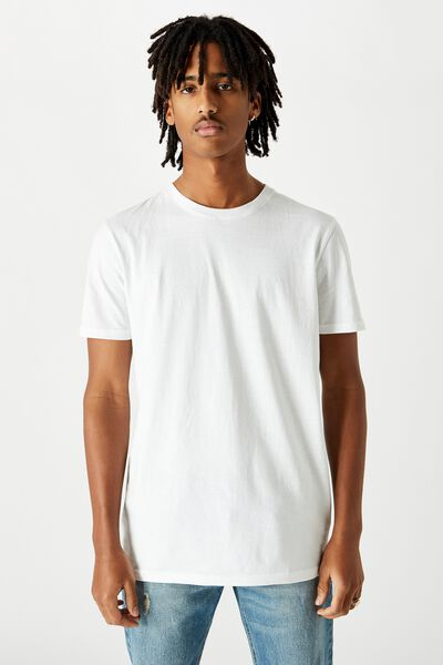Slim T Shirt, WHITE