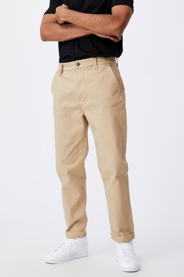 Relaxed Fit Chino, SAND