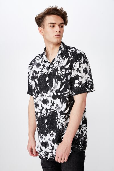 Resort Shirt, WATERFLOWER
