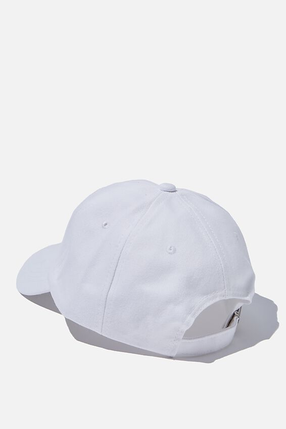 Dad Cap, NO REGRETS/WHITE