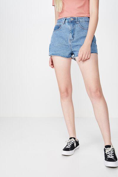 b779a7141d3 Womens Shorts l Denim shorts, High Waisted Shorts, Paperbag Waisted ...