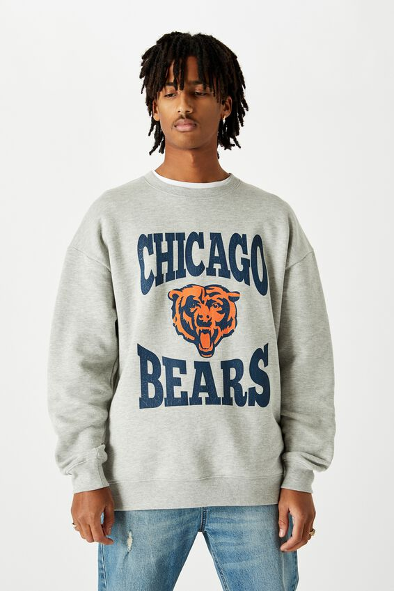 License Graphic Crew, GREY MARLE/CHICAGO BEARS