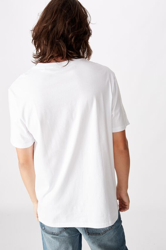 Regular License T Shirt, WHITE/SPEEDY