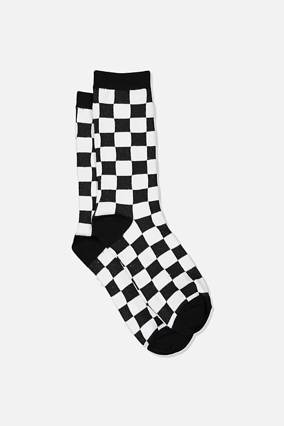 Jersey Sock, CHECKMATE
