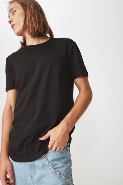 Slim T Shirt, BLACK