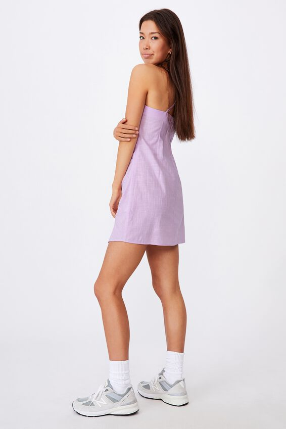 Strappy Mini Dress 1, ORCHID BLOOM