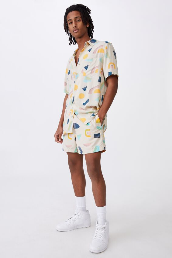 Resort Short, SHAPES ECRU