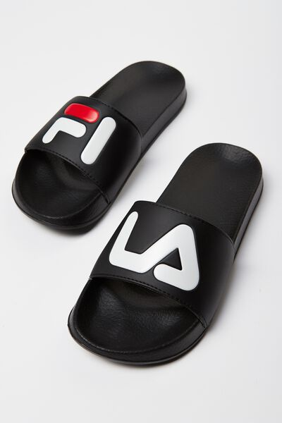 Fila Lcn Slides, BLACK WORDS