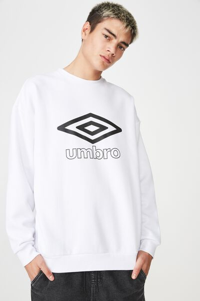 Umbro Lcn Fleece, WHITE